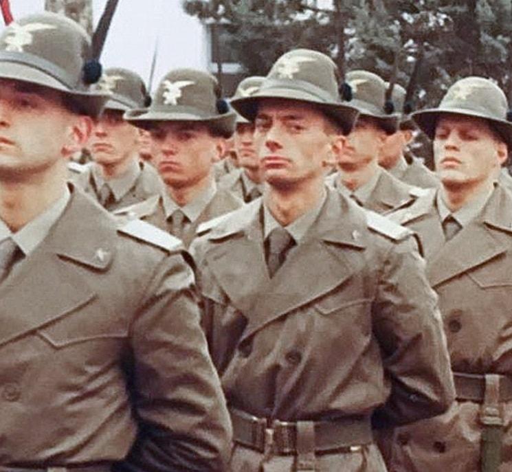 Servizio militare, giuramento alla Scuola Militare Alpina di Aosta