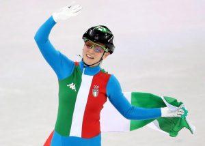 Arianna Fontana conquista iol bronzo sullo short track 1000 metri
