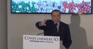 Berlusconi a Confcommercio