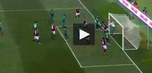 Bologna-Fiorentina video gol Pulgar-Veretout da calcio d'angolo