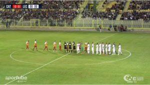 Catanzaro-Sicula Leonzio: Ultima tv, Sportube diretta live streaming. Ecco come vedere la partita