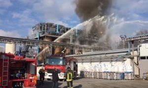 Bulgarograsso (Como): esplosione azienda rifiuti, 3 feriti gravi