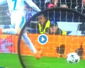 Cristiano Ronaldo rigore psg
