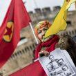 Curdi contro presidente Turchia in Vaticano