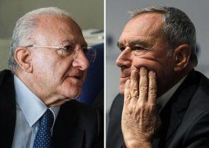 Dopo l'inchiesta di Fanpage sul figlio, De Luca attacca Grasso e Di Maio