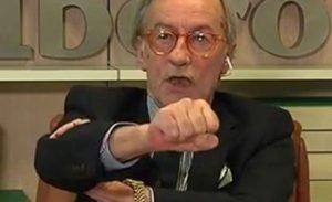 """Vittorio Feltri: """"Violentare una clochard di 75 anni è un atto eroico. Solo un senegalese infoiato..."""""""
