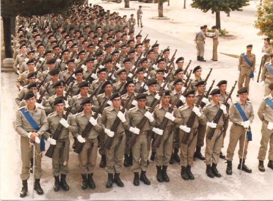 Servizio militare, FOTO giuramento del 9° Servizio Tecnico dell'Aeronautica