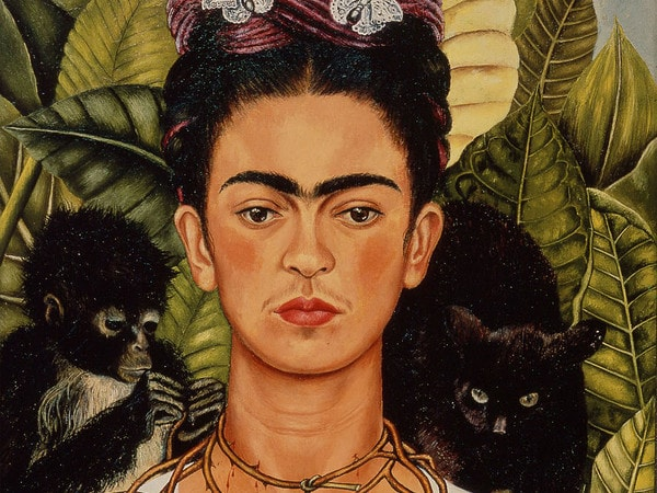 Il celebre Autoritratto di Frida Kahlo esposto al Mudec di Milano