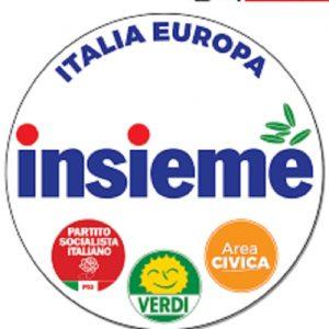 Il simbolo di Italia Europa insieme