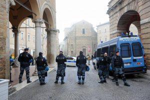 Macerata, città chiusa e impaurita per il corteo antifascista di sabato 10 febbraio