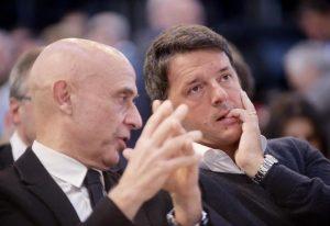 """Renzi e Minniti insieme a Firenze: """"Orgogliosamente antifascisti"""""""