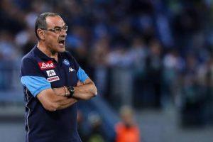Napoli-Lazio, Maurizio Sarri espulso da arbitro Luca Banti