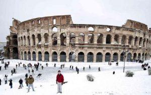 Neve a Roma: quando può succedere e il piano della sindaca Virginia Raggi