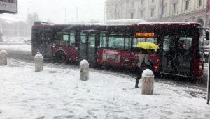 Neve a Roma, assurda polemica tra il vice sindaco e la Protezione civile