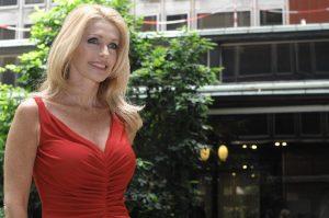 Paola Ferrari (foto Ansa)