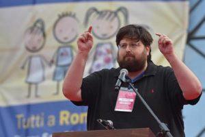 Mario Adinolfi (foto Ansa)