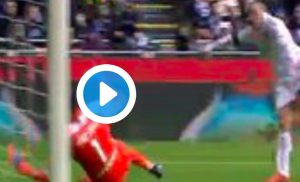 Rodrigo Palacio video gol Inter-Bologna, svarione di Miranda