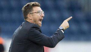 """Roma, Eusebio Di Francesco: """"Luciano Spalletti? Ho cose più importanti per la testa"""""""