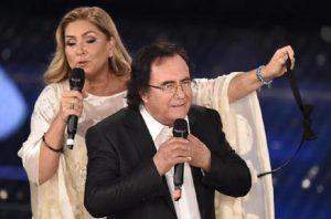 Romina Power e Al Bano (foto Ansa)