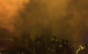 Guerriglia al corteo contro CasaPound a Torino