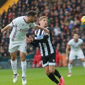 Udinese-Milan 1-1 highlights, pagelle: Suso video gol, Donnarumma autogol
