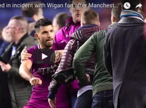 YOUTUBE Wigan-Manchester City: Aguero aggredisce tifoso, Guardiola litiga con Paul Cook