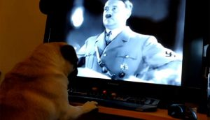 Buddah guarda Adolf Hitler