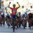 Vincezo Nibali al traguardo
