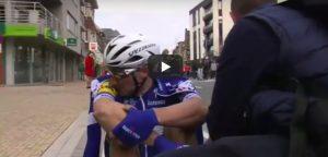 YOUTUBE Ciclismo, Sagan trionfa alla Gand. Viviani 2°: pugni e lacrime