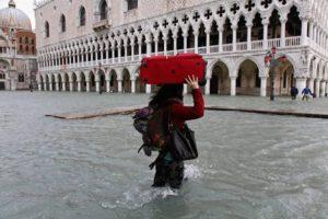 Acqua alta a Venezia: meteo weekend 17 e 18 marzo
