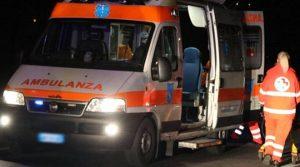 Ambulanza in servizio