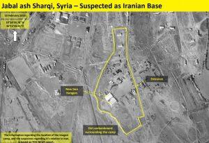 Base Iran localizzata in Siria per i missili contro Israele