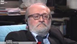"""YOUTUBE Becchi insulta Gasparri in diretta: """"Stai zitto. C..."""""""