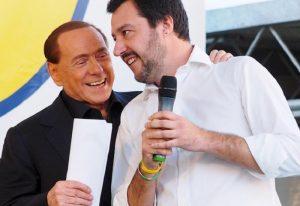 """Matteo Salvini al Corriere: """"Auguri a Di Maio se fa governo col Pd. Io non tradisco Forza Italia"""""""