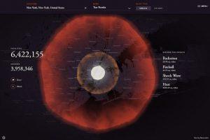VIDEO Cosa succede se una bomba atomica cade sulla tua città? La mappa interattiva