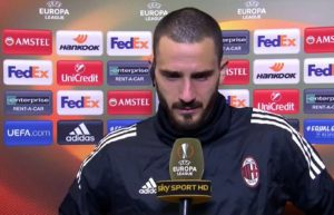 """Leonardo Bonucci piange ricordando Davide Astori: """"me lo porterò sempre con me"""" VIDEO"""