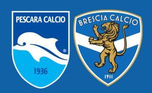 Brescia-Pescara streaming-diretta tv, dove vederla