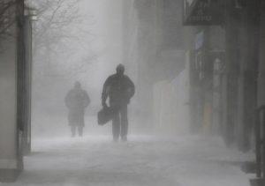 """Meteo, freddo e neve a fine marzo: """"Arriva Buran bis"""" (foto Ansa)"""