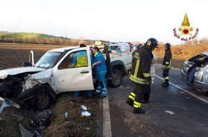 Siena, scontro frontale tra due auto: muore Cristian Manca