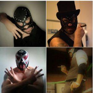 Foto Cristian Panarari wrestling Mistero
