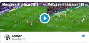 Lionel Messi è l'incubo di Thibaut Courtois: il portiere deriso sui social
