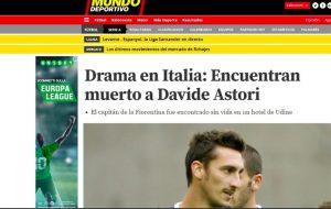 Davide Astori è morto, il ricordo della stampa estera (FOTO)