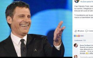 """Anche Luigi Di Maio ricorda Fabrizio Frizzi: """"Ci mancherai per il sorriso e l'eleganza"""""""