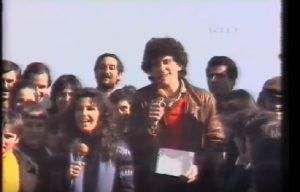 Fabrizio Frizzi agli esordi in televisione