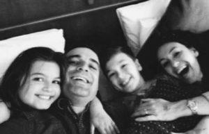 Louis, Ella, Emma e Paul Maley