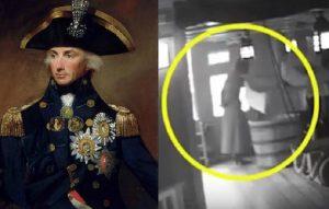 Horatio Nelson, fantasma della moglie sulla nave Victory? Misterioso VIDEO