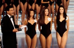 Fabrizio Frizzi e Carlotta Mantovan, la frase durante Miss Italia da cui cominciò tutto