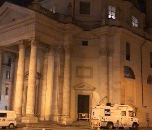 Roma si prepara ai funerali di Fabrizio Frizzi