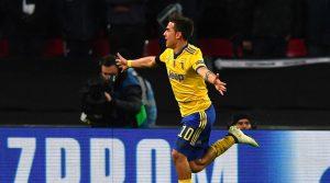 Champions League, impresa Juve: 2-1 a Wembley firmato Higuain e Dybala