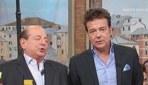 Giancarlo Magalli e Marcello Cirillo
